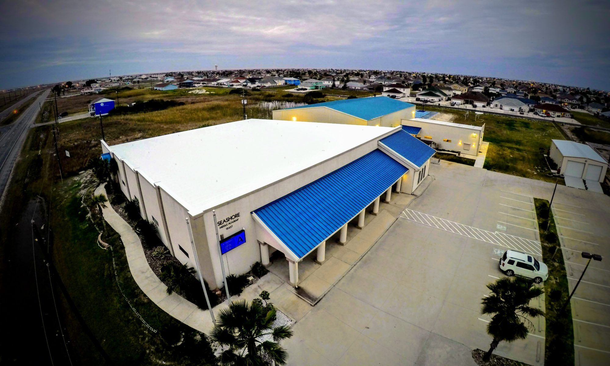 Seashore Middle Academy | PVC Recover - Metal Retrofit
